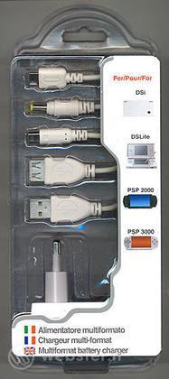 DSi NDSLite PSP Alimentatore Multiform.