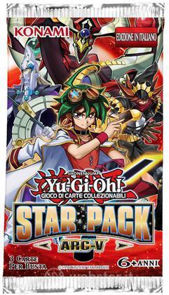 Yu-Gi-Oh! Star Pack 2015 Arc-V busta