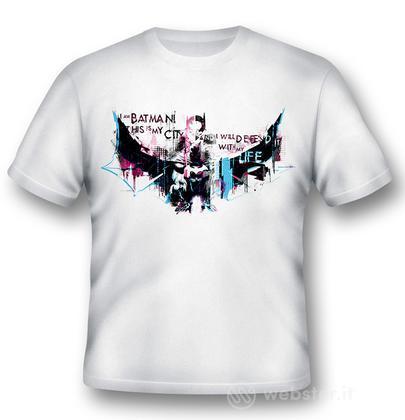 T-Shirt Batman I Will Defend XL