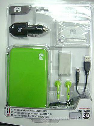 DSi Pack 10 Accessori