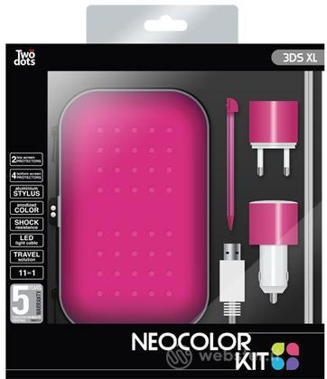 TWO DOTS Kit Color Pink 3DS XL