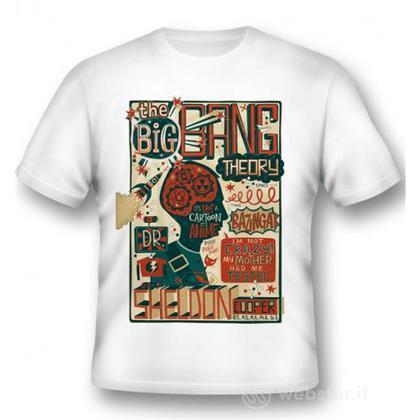 T-Shirt Big Bang Theory Sheldon Quotes L