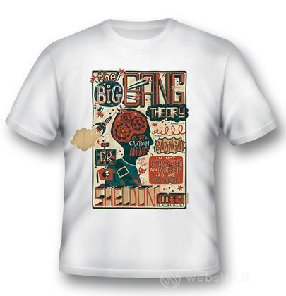 T-Shirt BigBang Theory Sheldon QuotesXXL