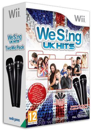We Sing UK + 2 Microfoni