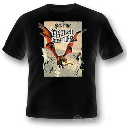 T-Shirt HP Magical Creatures-Dragon XXL