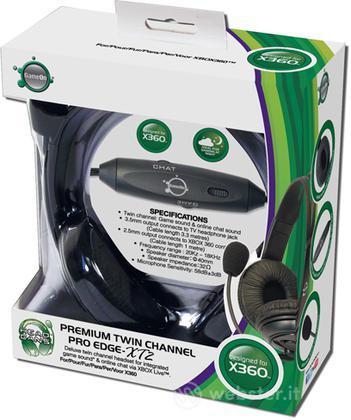 Headset Premium Twin Channel ProEdge XT2