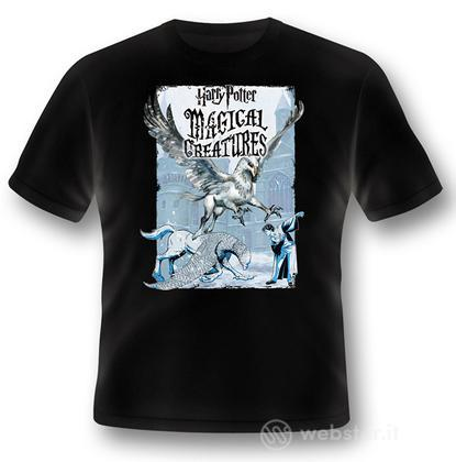 T-Shirt HP Magical Creatures-BuckbeakXXL