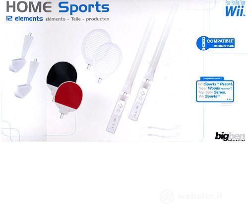 BB Pack Sport Kit Da 12 Pezzi WII