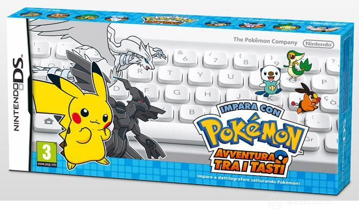Impara con Pokemon:Avventura tra i Tasti