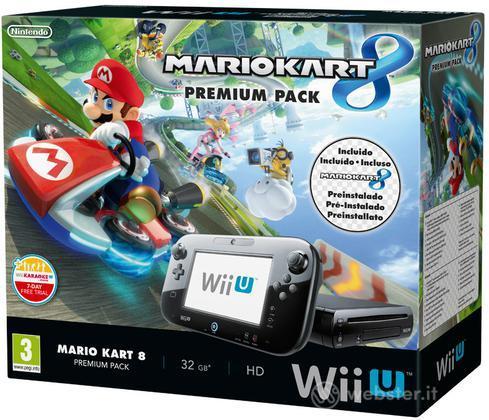 Wii U Mario Kart 8 Premium Pack + SW