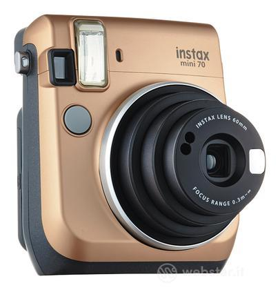 FUJIFILM Fotocamera Instax MINI 70 Gold