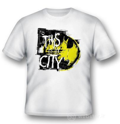 T-Shirt Batman This is My City L