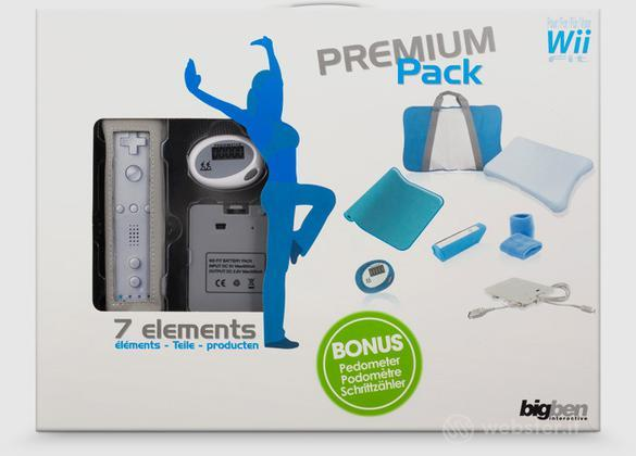 BB Wii Fit Premium pack-7 accessori