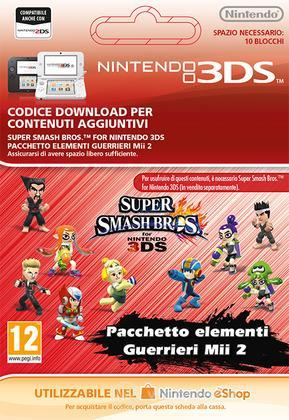 Super SmashBros: Mii Fighter Costume Bnd