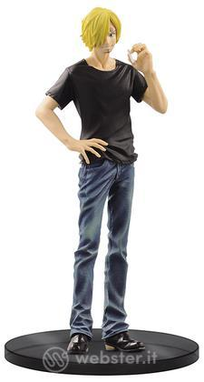 Figure One Piece Sanji Jeans - Black