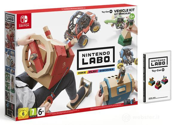 "Nintendo LABO ""Kit Veicoli"""