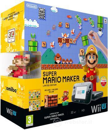 Wii U Mario Maker Premium Pack
