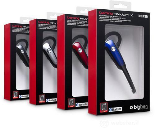 Auricolare Bluetooth LX Bigben  PS3