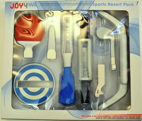Sports Resort Pack JW03 per WII