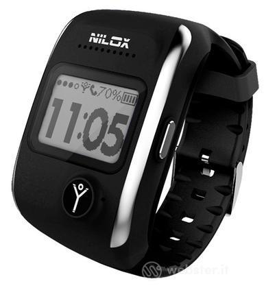 """Nilox Smartwatch Bodyguard 1"""" LCD Nero"""