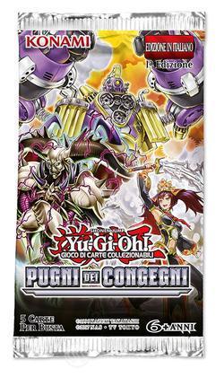 Yu-Gi-Oh! Pugni dei Congegni Busta