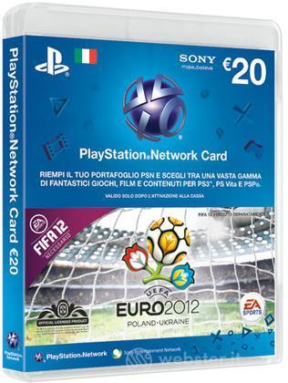 PSN Card 20 Euro - EURO 12