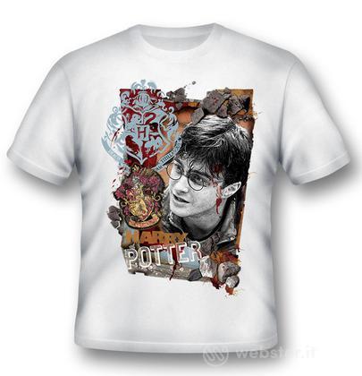 T-Shirt Harry Potter Titillandus White L