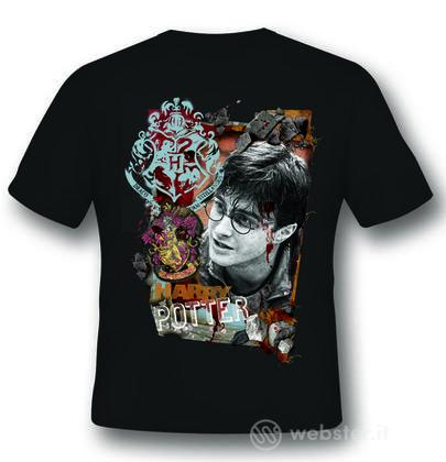 T-Shirt Harry Potter Titillandus Black L