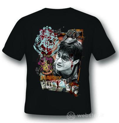 T-Shirt Harry Potter Titillandus Black M