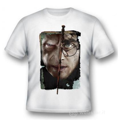 T-Shirt Harry vs Voldemort XL