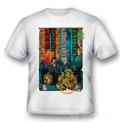 T-Shirt Hogwarts Houses XL