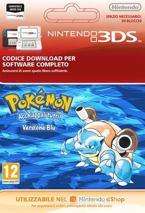 Pokemon Blue Edition Italian