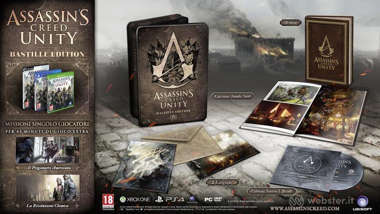 Assassin's Creed Unity Bastille Coll.Ed.
