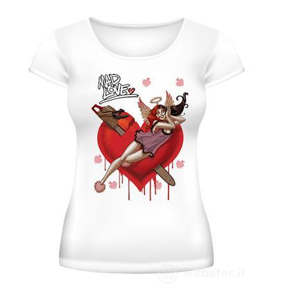 T-Shirt Harley Quinn Mad Love Donna XS
