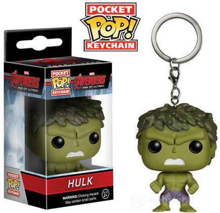 Figure Portachiavi POP! Marvel-Hulk