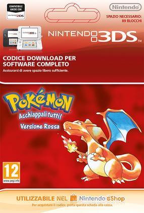 Pokemon Red Edition Italian