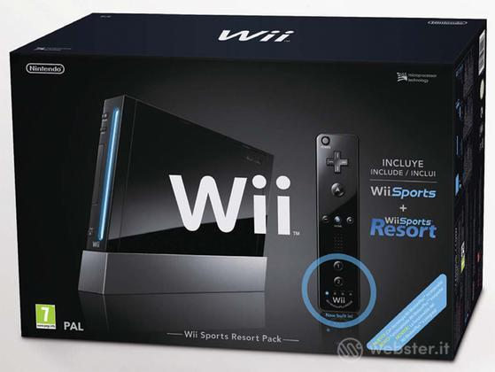 WII Sports Resort Pack Black+Telec Plus