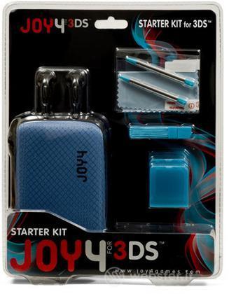 Kit Accessori JD305 Blu per 3DS