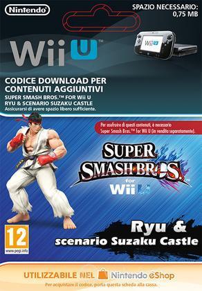 3DS Super Smash Bros.: Ryu & Castle