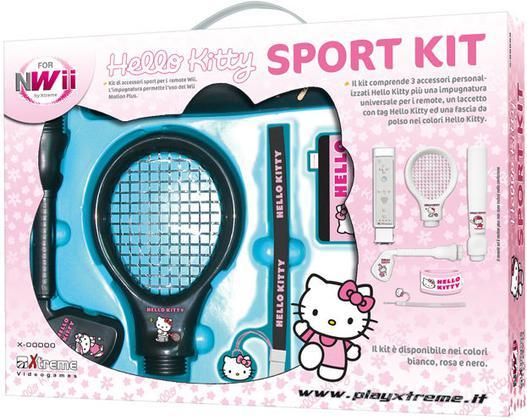 WII Hello Kitty Sport Kit