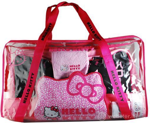 WII Hello Kitty Fitness Travel Kit