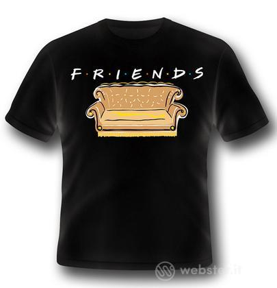 T-Shirt Friends Logo and Sofa S
