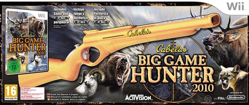 Cabela's Big Hunter 2010 + fucile