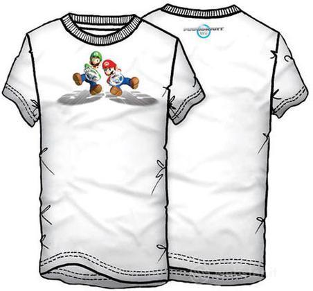 T-Shirt Mariokart WII Tg.M