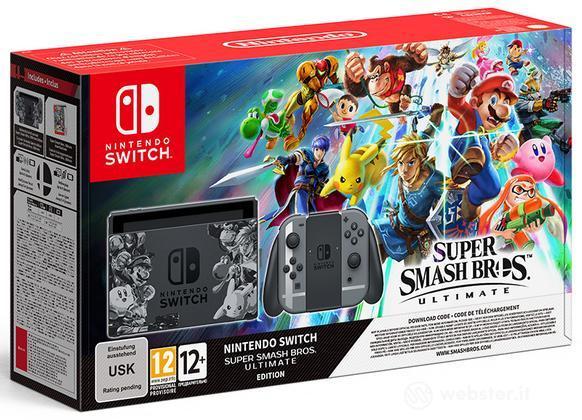 Nintendo Switch+Super Smash Bros Ultim.