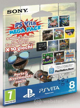 Memory Card 8GB PS Vita+MegaPack Voucher