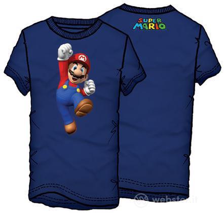 T-Shirt Supermario Jumping Tg.XXL