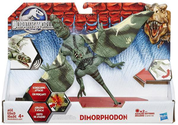 Figure Jurassic W. Growlers Dimorphodon