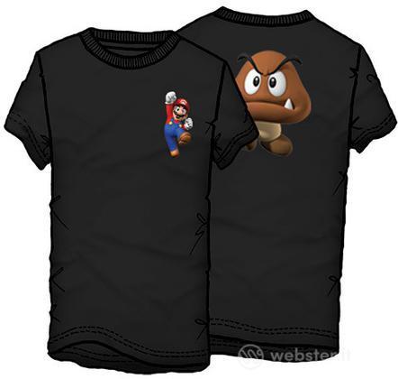 T-Shirt Supermario Fungo Tg.M