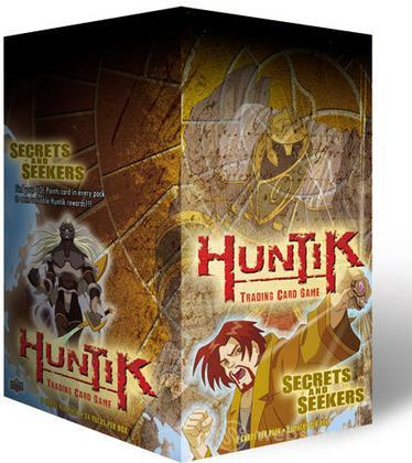 Huntik Buste Secrets & Seekers 24 pz